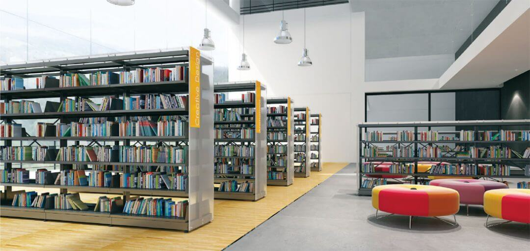 library shelving system