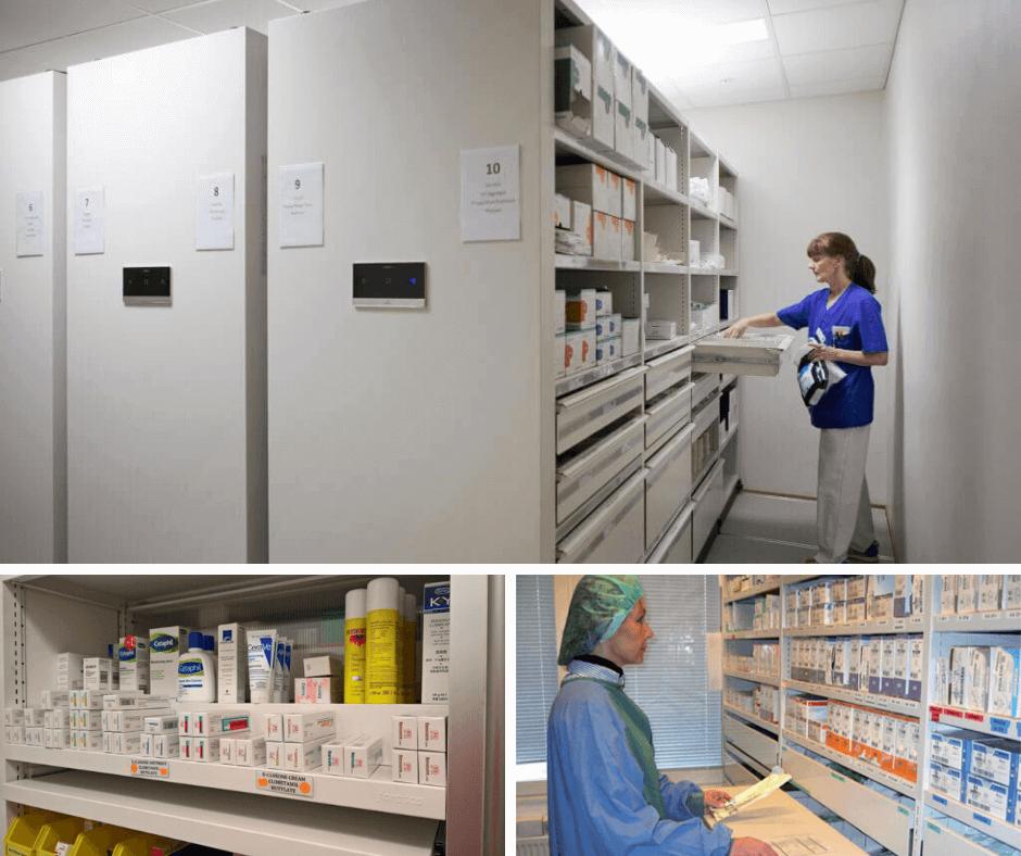 Healthcare Storage Custom Made Cabinet