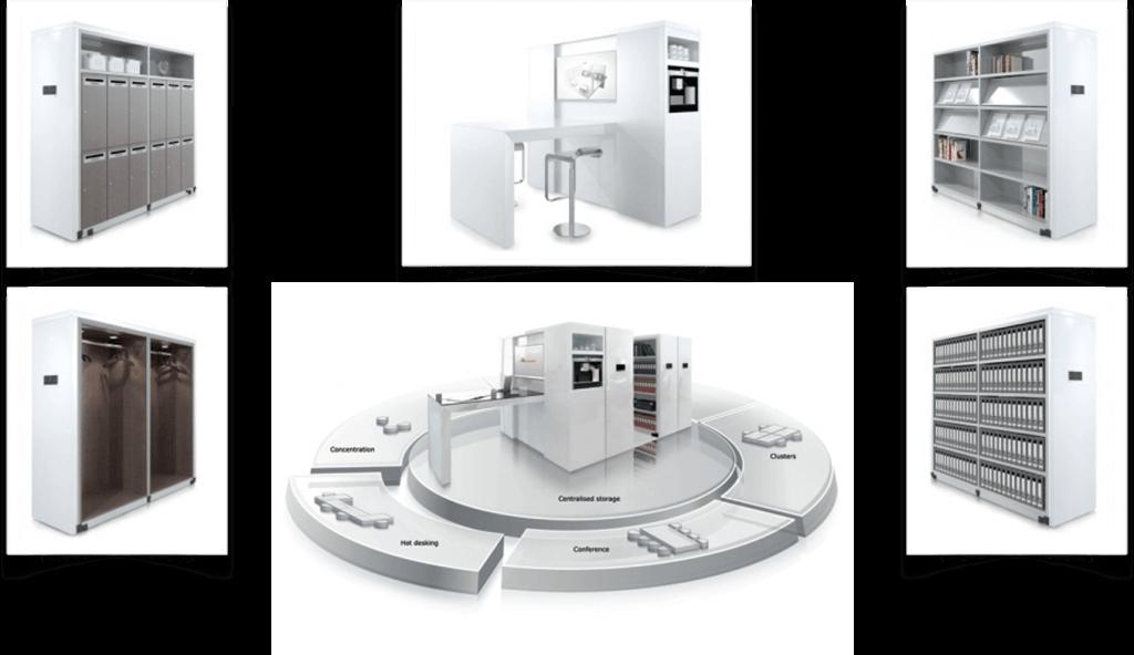 custom made cabinets - office hub